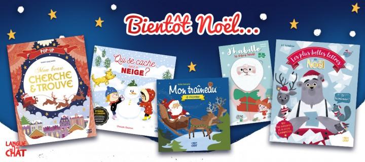 5 livres pour préparer Noël en famille avec Langue au Chat