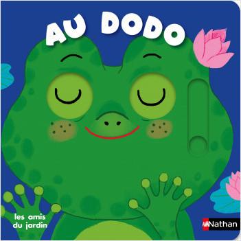 Au dodo - les amis du jardin - Livre animé Dès 6 mois - Pour accompagner le rituel du coucher des bébés