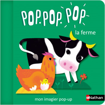 Pop.pop.pop - L'imagier pop-up de la ferme - Dès 1 an