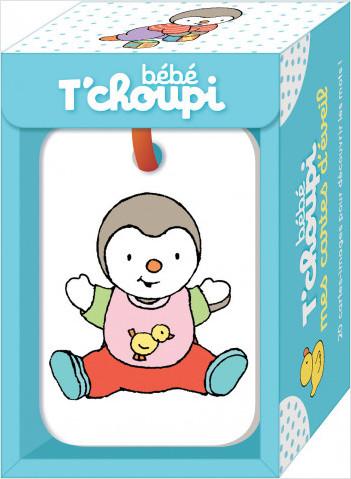 Mes cartes d'éveil bébé T'choupi