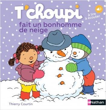 T'choupi fait un bonhomme de neige - Dès 2 ans