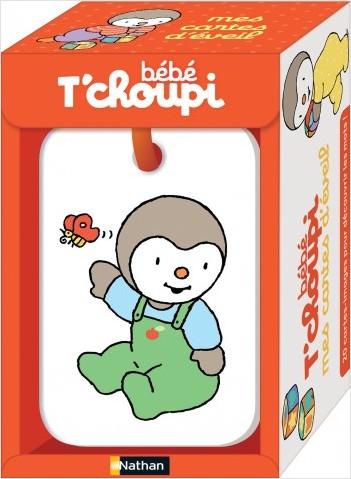 Mes cartes d'éveil bébé T'choupi  - Dès 6 mois