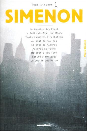 Tout Simenon - Tome 01