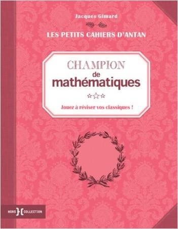 """Petit cahier """"Champion de mathématiques"""""""