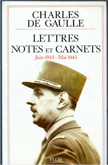 Lettres, Notes et Carnets