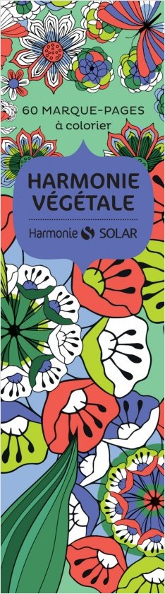 marque page Harmonie végétale