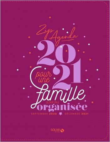 Zipagenda 2021 pour une famille enfin organisée