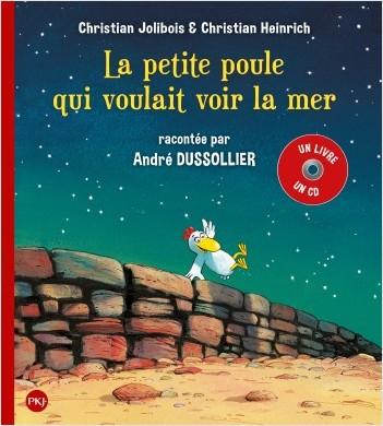 P'tites Poules Livre + CD - La petite poule qui voulait voir la mer