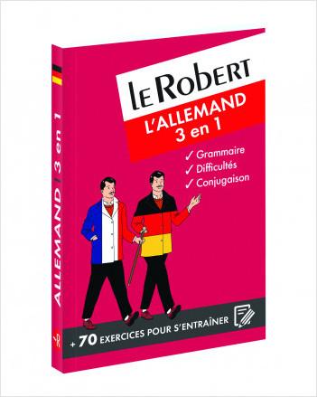 Le Robert - L'allemand 3 en 1: grammaire, difficultés, conjugaison
