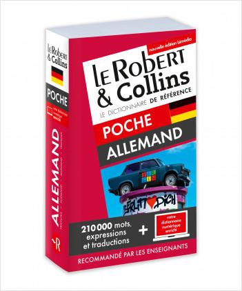 Dictionnaire Le Robert & Collins Poche allemand et son dictionnaire à télécharger PC