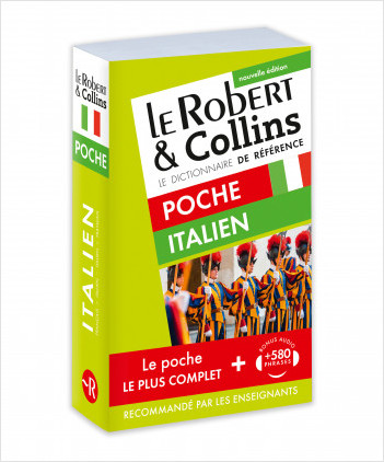 Dictionnaire Le Robert & Collins Poche italien