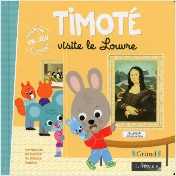 Timoté visite le Louvre