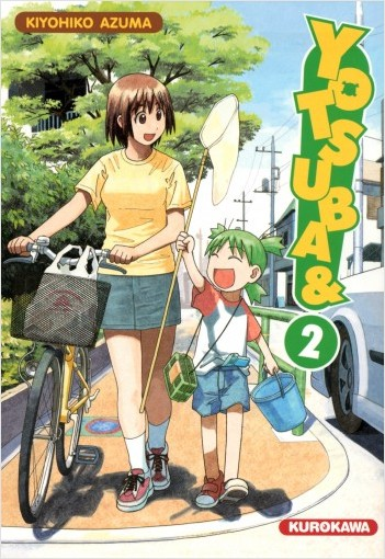 Yotsuba & ! - tome 02