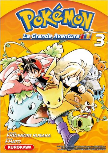 Pokémon - La Grande Aventure - tome 03