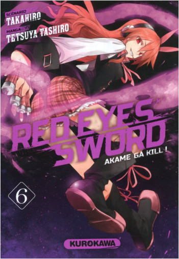 Red Eyes Sword - Akame ga Kill ! - tome 06