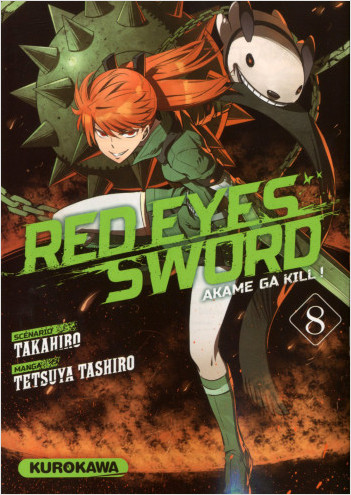 Red Eyes Sword - Akame ga Kill ! - tome 08