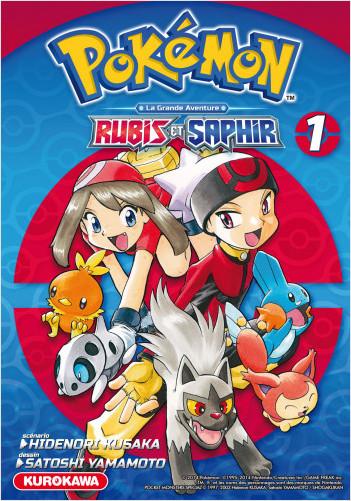 Pokémon - Rubis et Saphir - tome 01