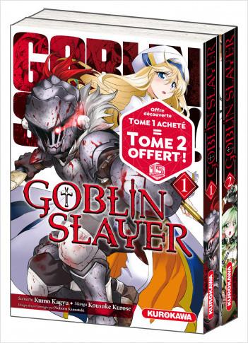 Pack découverte - Goblin Slayer - Tomes 1 et 2