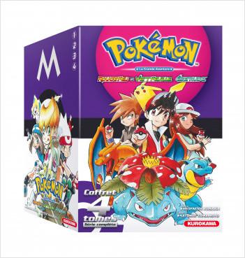 Coffret Pokémon Rouge Feu et Vert Feuille / Émeraude 1-2-3-4