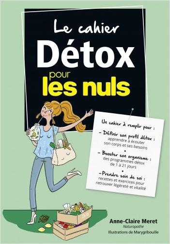 Le cahier Détox pour les Nuls