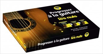 Progresser à la guitare pour les Nuls coffret