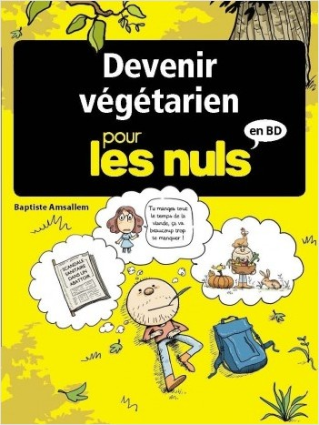 Devenir végétarien pour les Nuls en BD