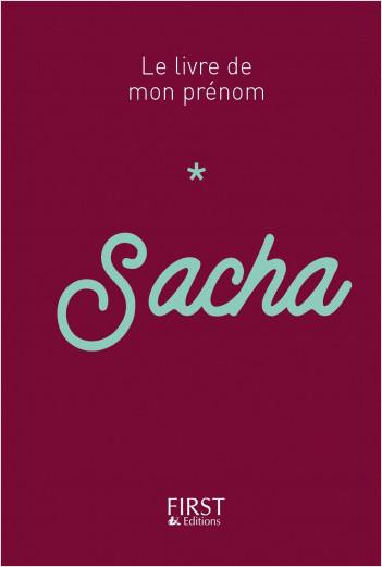 Le livre de mon prénom - Sacha 51