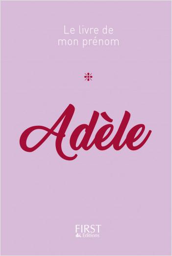 60 Le livre de mon prénom - Adèle