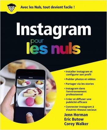 Instagram pour les Nuls, poche