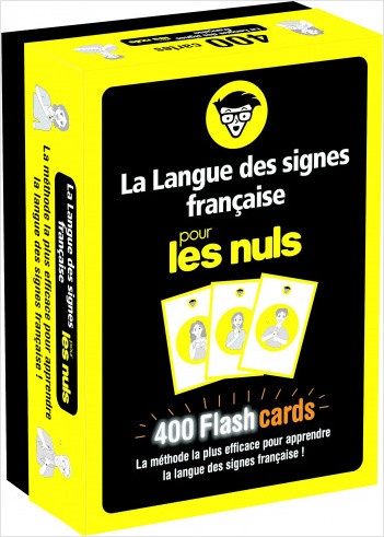 Flashcards La Langue des signes française pour les Nuls