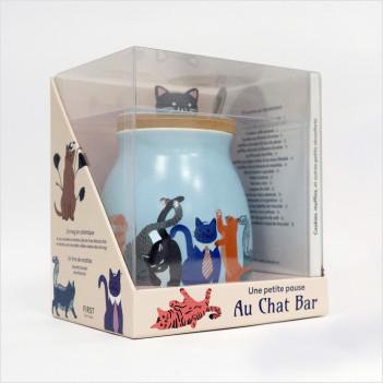 Coffret - mug Une petite pause au Chat Bar, 2e éd, 1 livre et 1 mug