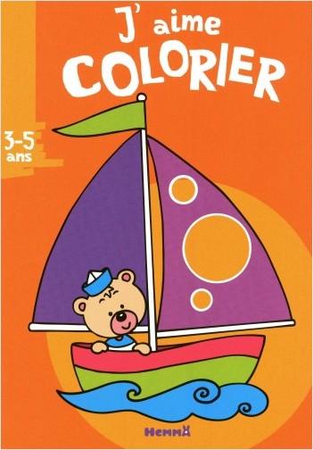 J'aime colorier (3-5 ans) voilier