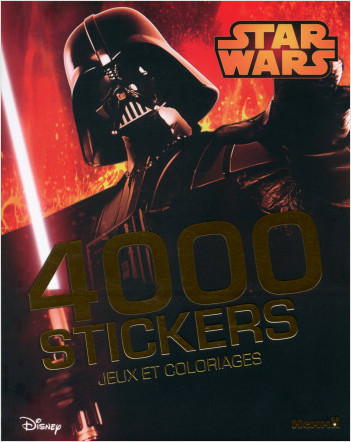 Disney Star Wars - 4000 stickers - Jeux et coloriages