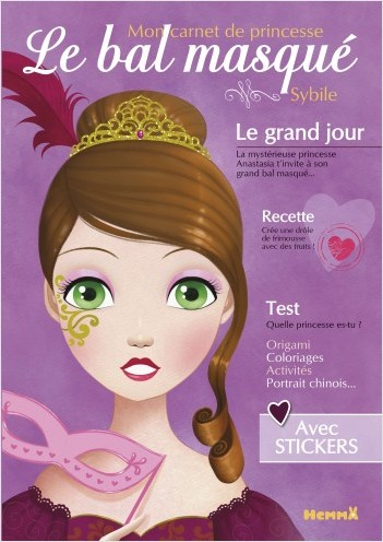 Mon carnet de princesses - Le bal masqué