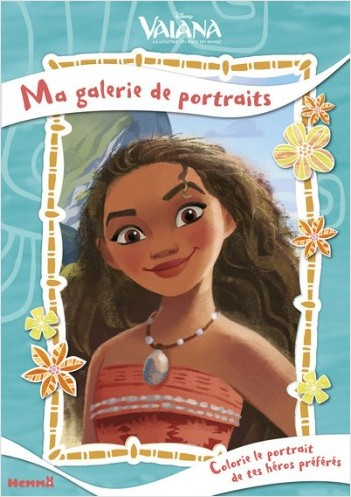 Disney Vaiana - Ma galerie de portaits