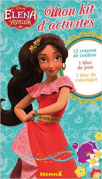 Disney - Elena d'Avalor - Mon kit d'activités