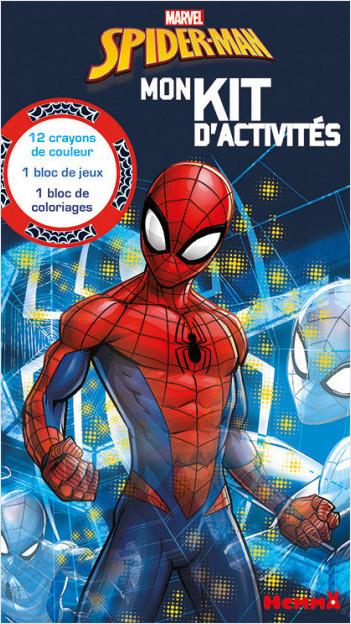 Marvel - Spider-Man - Mon kit d'activités