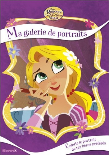 Disney Raiponce - La série - Ma galerie de portraits