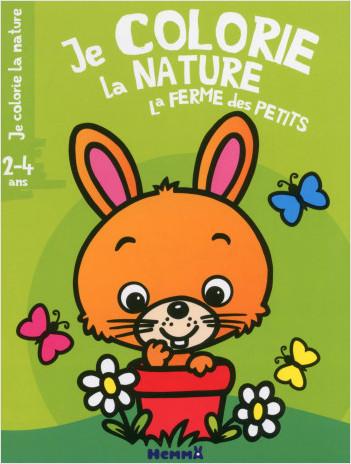 Je colorie la nature -  La ferme des petits (2-4 ans) (Lapin)