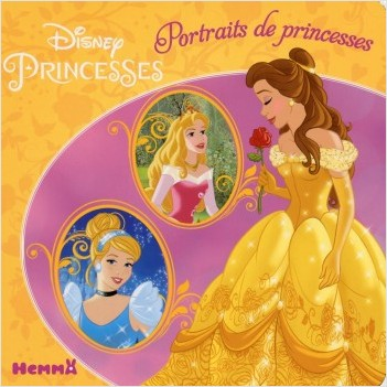 Disney Princesses - Portraits de princesses