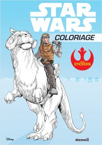 Disney Star Wars - Coloriage avec stickers
