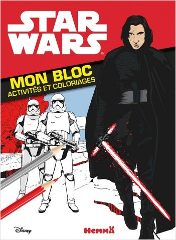 Disney Star Wars - Les Derniers Jedi Ep VIII - Mon bloc - Activités et coloriages