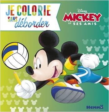 Disney Mickey et ses amis, Je colorie sans déborder