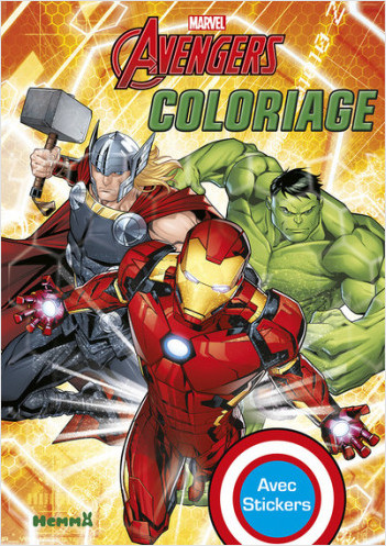 Marvel - Avengers - Coloriage avec stickers