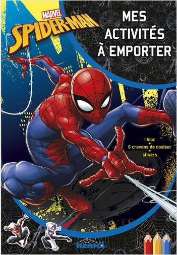 Marvel Spider-Man - Mes activités à emporter