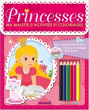 Ma mallette d'activités et coloriages - Princesses