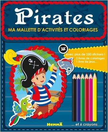 Ma mallette d'activités et coloriages - Pirates