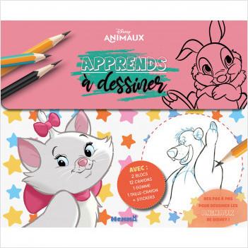 Disney Animaux - Apprends à dessiner - Valisette - Tout pour apprendre à dessiner - Dès 6 ans