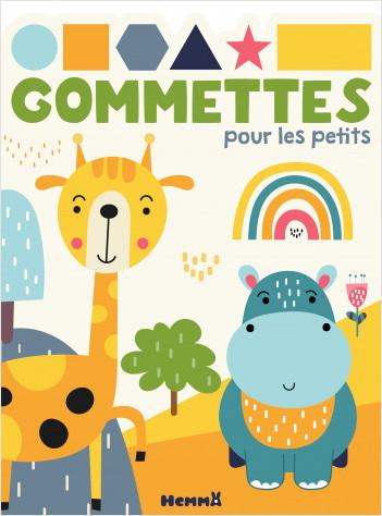 Gommettes pour les petits - Girafe et hippo - Livre de gommettes - Dès 3 ans