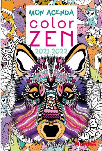 Agenda scolaire Color Zen 2021-2022 - To do list - dès 8 ans